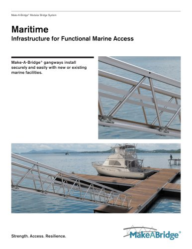Make-A-Bridge® Maritime Bridges and Gangways