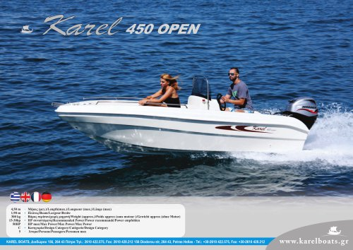 KAREL OPEN 450