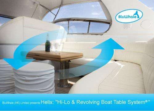 "Helix ""Hi-Lo & Revolving Boat Table System"""