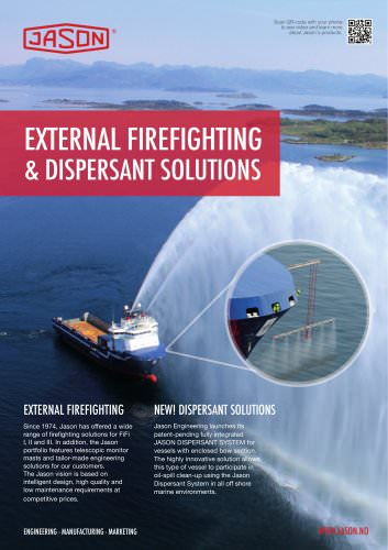 Dispersant for X-bow type vessel & FIFI II advertisment
