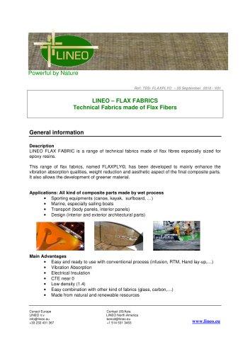 LINEO – FLAX FABRICS