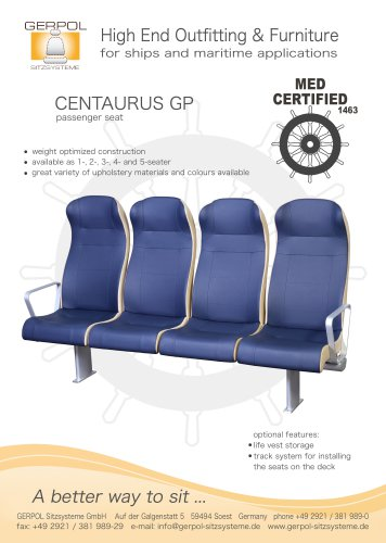 CENTAURUS GP