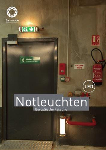 Broschüre Notbeleuchtung