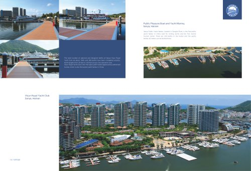 Visun Royal Yacht Club and Public Pleasure Boat and Yacht Marina, Sanya, Hainan