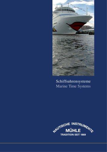 Schiffsuhrensysteme