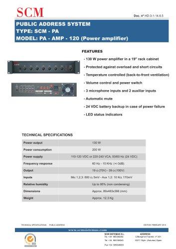 PA-AMP-120