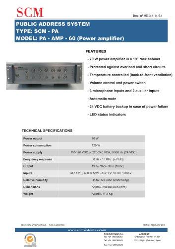 PA-AMP-60
