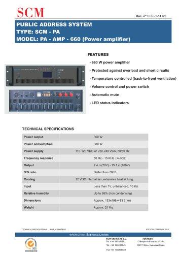 PA-AMP-660