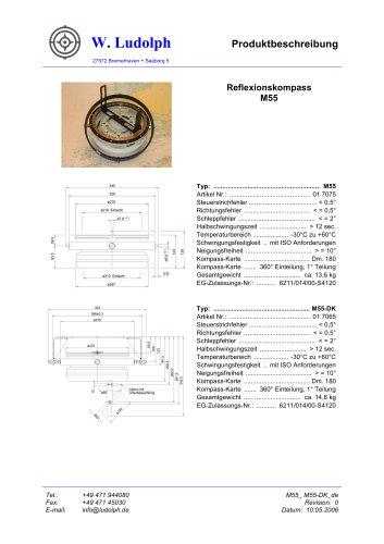Reflexionskompass M55