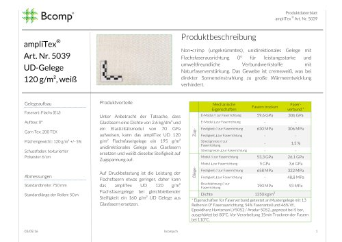 ampliTex® 5039