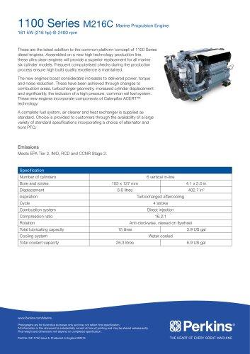 M216C Marine Specification Sheet