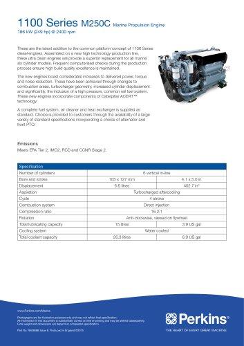 M250C Marine Specification Sheet