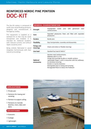 Timber Pontoons - Doc-Kit
