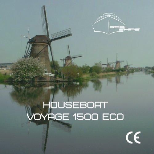 Houseboat Voyage 1500 Eco DE