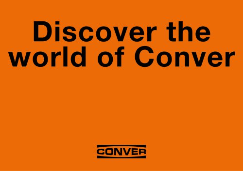 Conver product overview