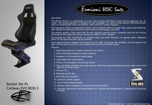 Bucket Ver PL (Corbeau EVO BOSS 2) - Brochure