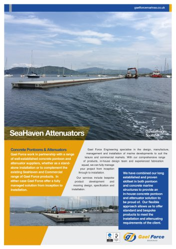 SeaHaven Floating Concrete Breakwaters
