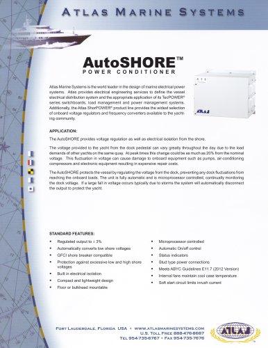 AutoSHORE POWER CONDITIONER