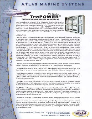 TPA II Series TecPOWER®