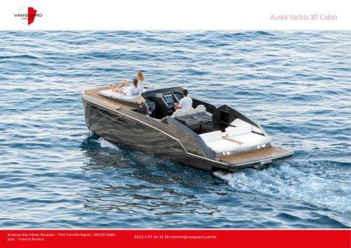 Aurea Yachts 30' Cabin